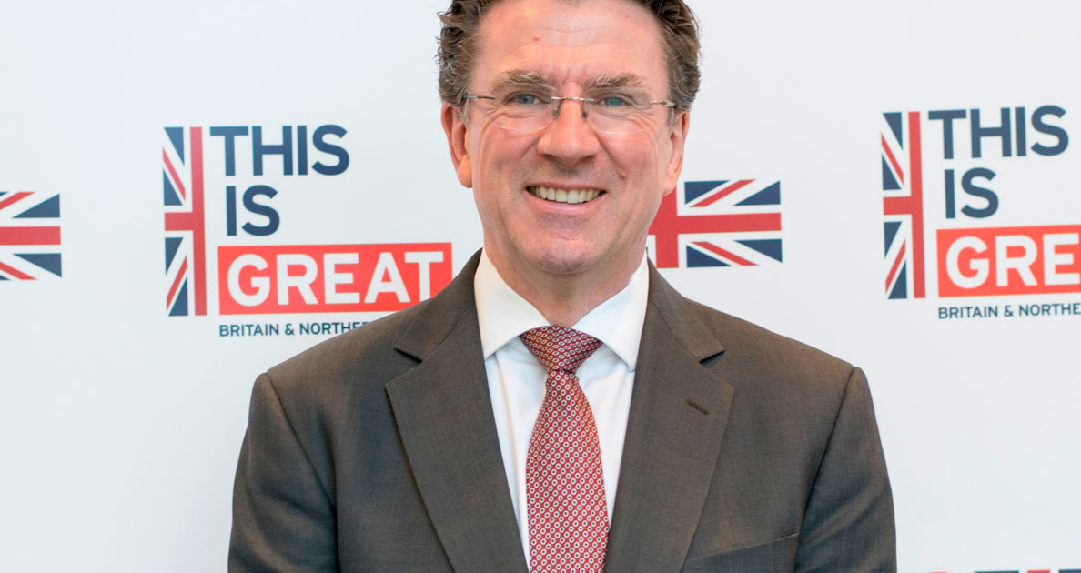 Interview with Iain Lindsay, the UK's Ambassador to Hungary