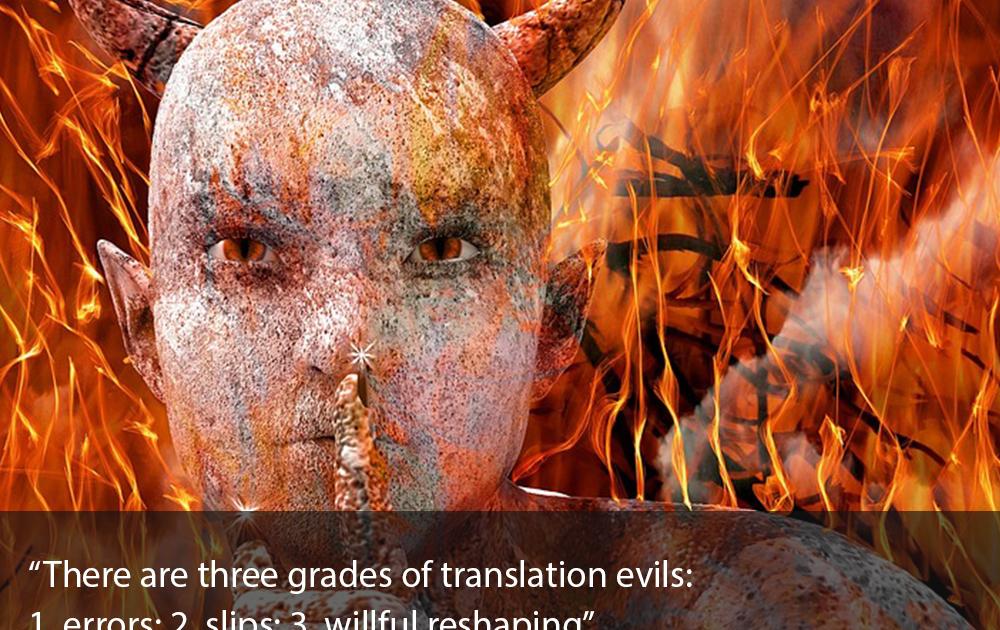 EDMF -Idézetek a fordításról, Vlagyimir Nabokov gondolatai